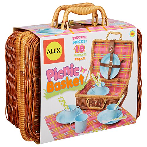 Toy Picnic Basket : Alex toys picnic basket import it all