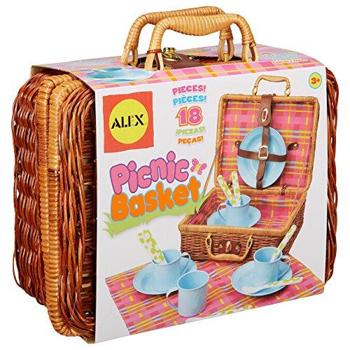 alex toys tea set basket - 3