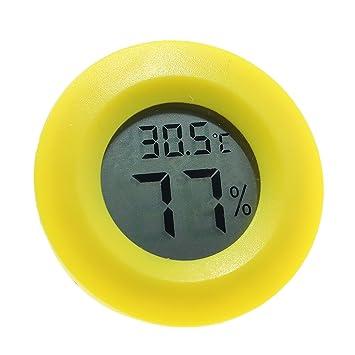 Termómetro digital higrómetro, precisión electrónica inalámbrico temperatura medidor de humedad Detector indicador para cocina/jardín ...