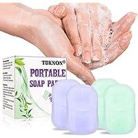 TUKNON Soap Paper, Jabón Desechable, Jabones en Papel