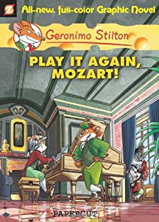 Geronimo Stilton Graphic Novels 8 Play It Again Mozart