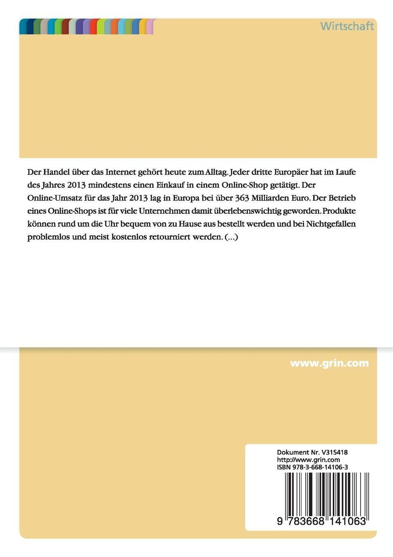 2443752323 Retourenmanagement im B2C Online Handel der Textil- und  Bekleidungsindustrie: Amazon.es: Karen Pape: Libros en idiomas extranjeros