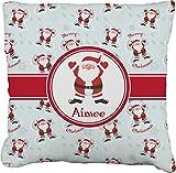 RNK Shops Santa Claus Burlap Throw Pillow 24'' (Personalized)