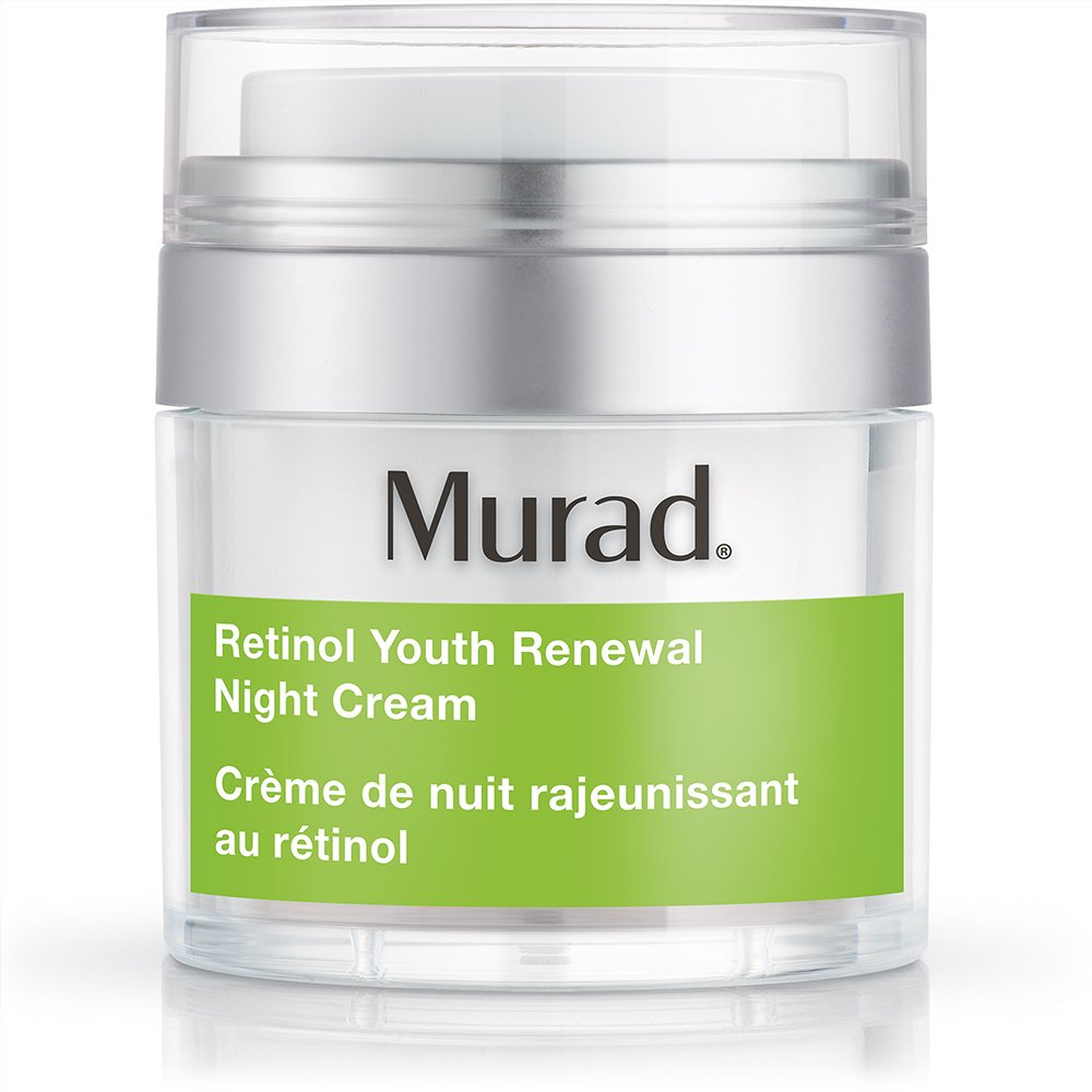 Murad Retinol Youth Renewal Night Cream - (1.7 fl oz), Breakthrough Anti Aging Night Cream with Retinol and Swertia Flower to Visibly Minimize Wrinkles and Restore Your Skin's Smooth Texture