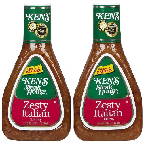Ken's Zesty Italian Dressing - 16 oz, Pack of 2
