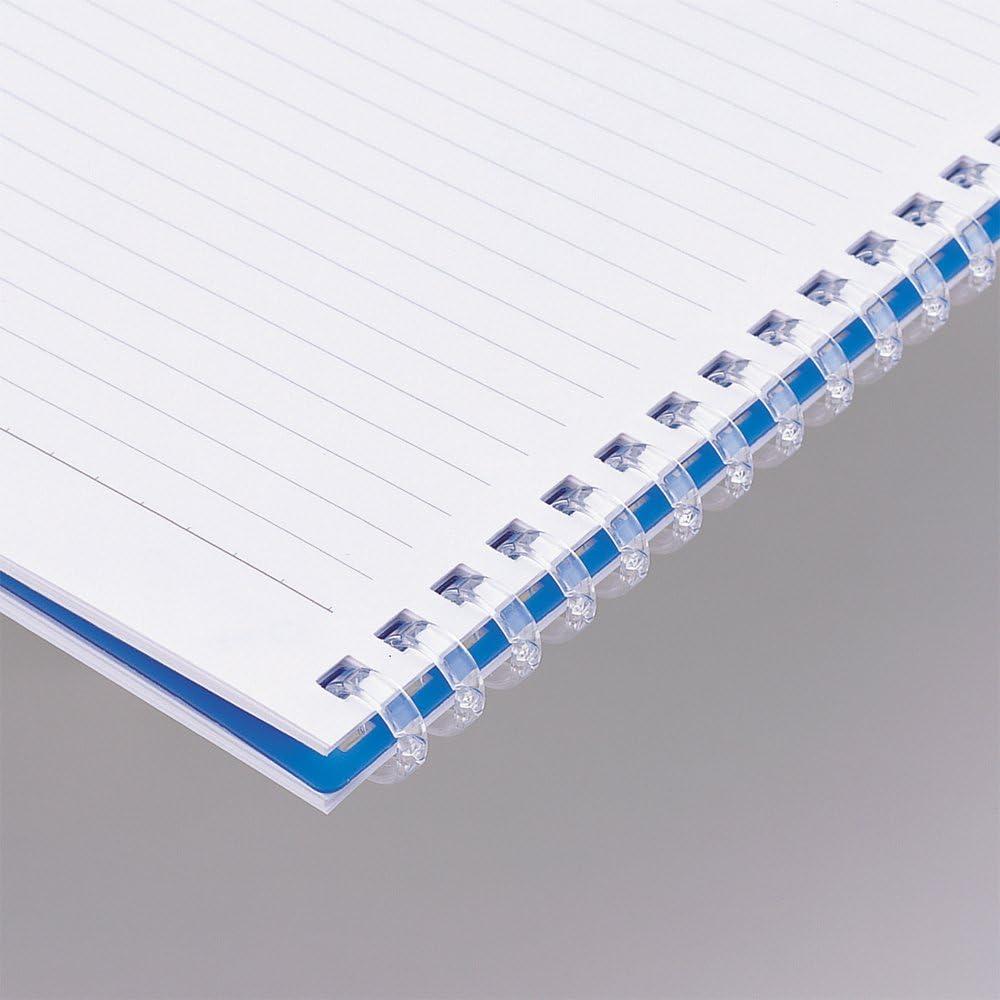 LIHIT LAB Twist Ring Notebook 9.9x7.3 Clear N1608-1
