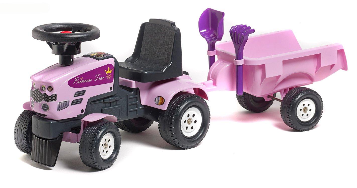Falk C Apertura por empuje Tractor juguete de montar juguetes de montar