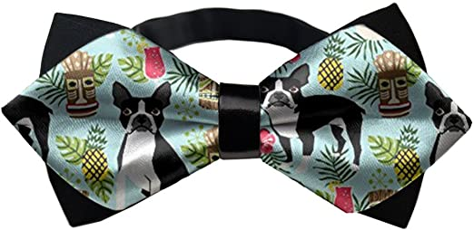 Casual 3D Printed Bowtie for Mens Boys Formal Events School Party