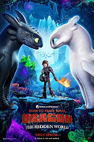 MCPosters How to Train Your Dragon The Hidden World GLOSSY FINISH Movie Poster - MCP439 (24