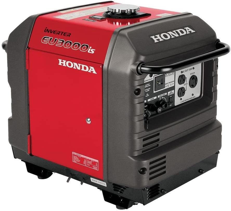 Honda EU3000iS, 2800 Running Watts/3000 Starting Watts, Gas Powered