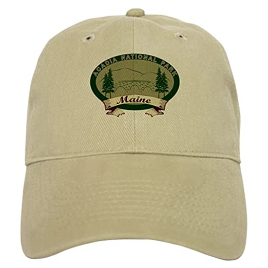 CafePress - Acadia National Park Cap - Baseball Cap with Adjustable  Closure ed4526042c54
