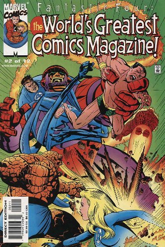 Read Online Fantastic Four World's Greatest Comic Magazine #2 PDF