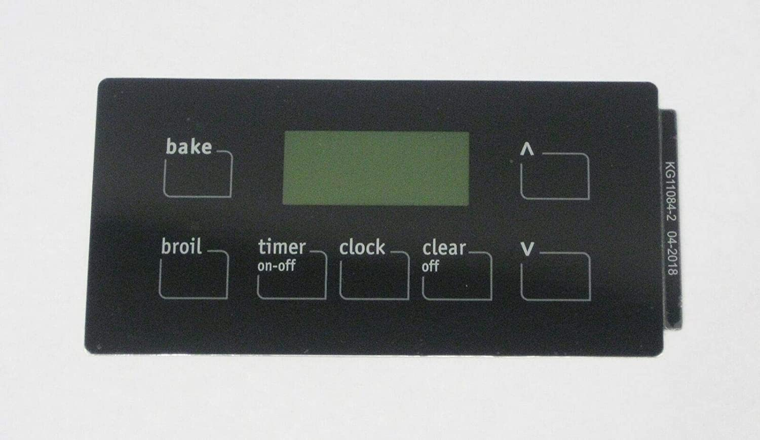 Oven Clock Overlay Pad 316220725 for Electrolux Frigidaire ERC Range Control