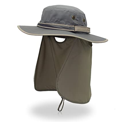 Amazon.com   EaseTech Sun Cap Fishing Hat For Men Women 64fb7f01eac2