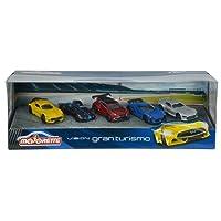 Majorette 212054052 - Véhicule Miniature - Ensemble de Véhicules - Vision Gran Turismo - 5 Pièces