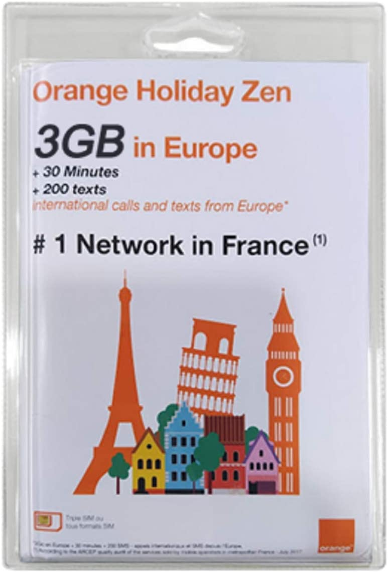 Amazon.com: Nuevamente Orange Holiday Europe – 3 GB de datos ...
