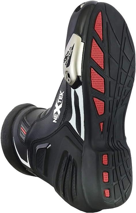 Motorrad Stiefel Racing Stylist Kurze Ankle Boot Motorrad Off Road Touring Schuhe Wasserdicht gepanzert f/ür Herren Jungen UK 9