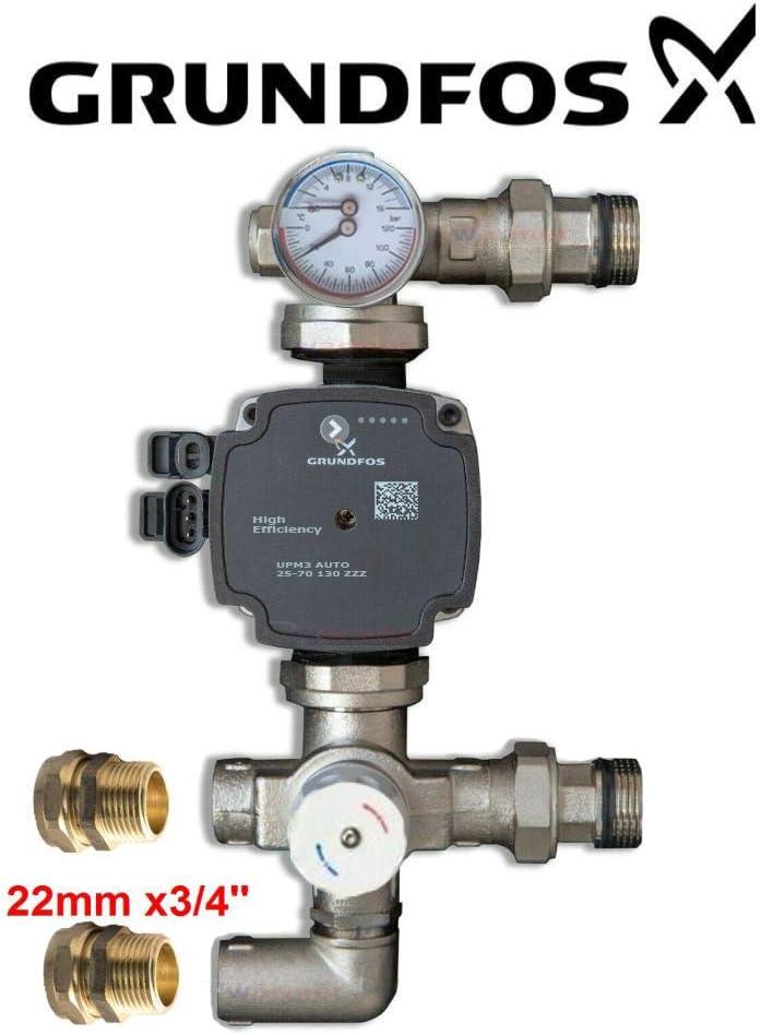 Single Zone 1 Port Underfloor Heating Manifold W/ärmer System PSW TRADE SUPPLIERS LTD