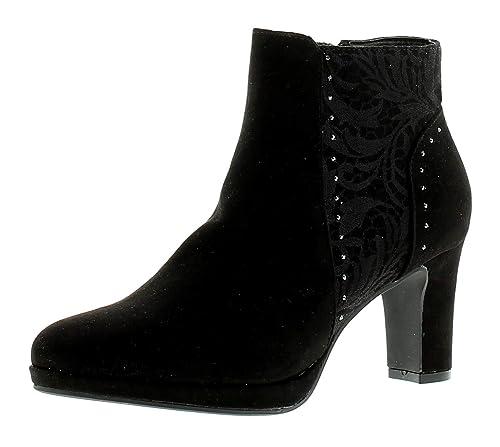 Stacie Damen Schwarz Knöchelhohe Sprox Stiefel 8wOkP0XNn