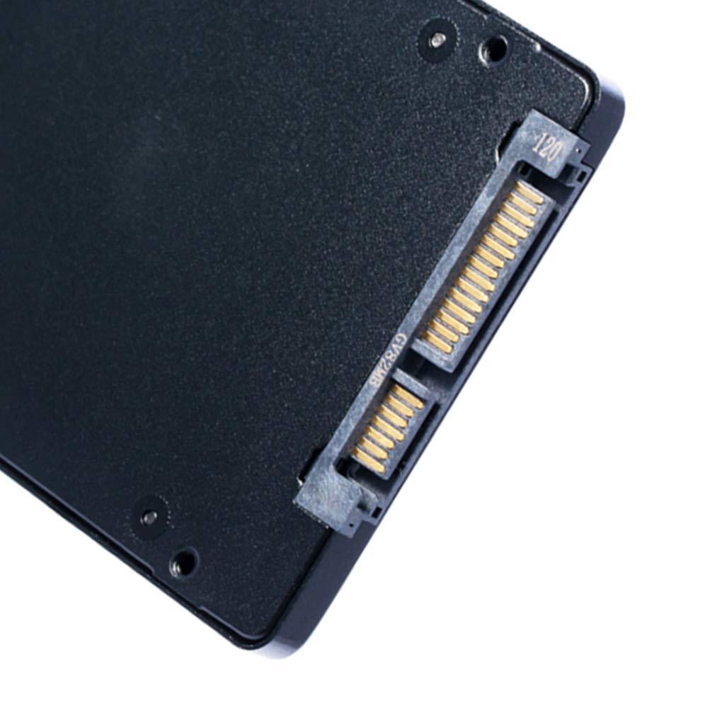 Noir Mobestech 256g msata ssd Computer Disque Dur ssd Laptop sata3 Mini Disque Dur Interne SSD pour Ordinateur Portable 2,5 Pouces