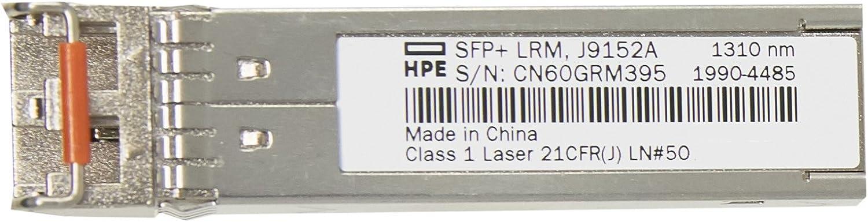 HP J9152A X132 10g Sfp+ Lc LRM Transceiver - J9152-69101
