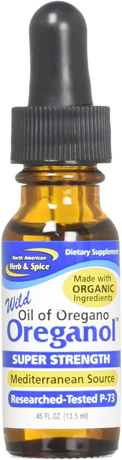 North Am. Herb and Spice Super Strength Oreganol P73, 0.45 Ounce