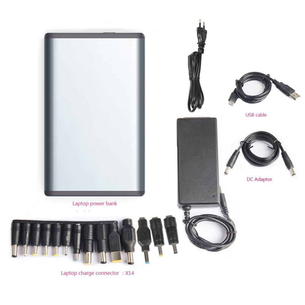 MAXOAK Gran Capacidad 50000mah Power Bank Batería Externa Cargador Portátil para Ordenador portátil Notebooks Sony, Dell, HP, Lenovo, Toshiba,Samsung,IBM ...