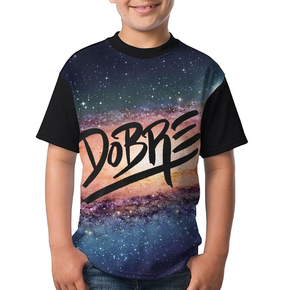 F&Rtees Youtobe Dobre Brothers 3D Print Boys Summer Raglan Short Sleeves T-Shirt