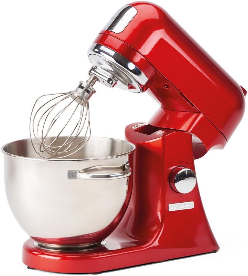 Wartmann WM-606 MXR Robot de cocina con cuenco de acero inoxidable ...