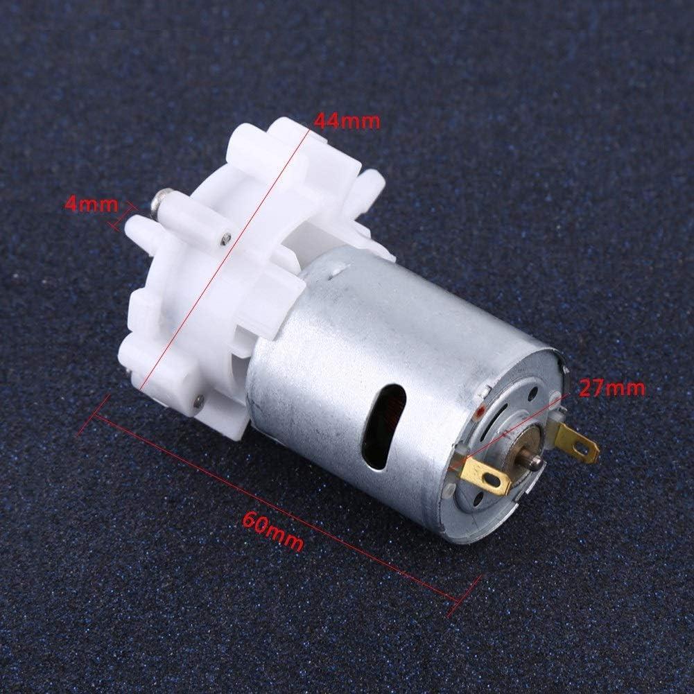 MLMLH Mini Gear Pump DC 3-12V Mini autoadescante Pompa ad Acqua per Acquario Pompante con Motore RS-360SH