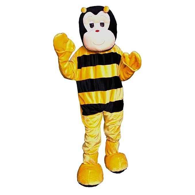 Amazon.com: Dress Up America Bee Mascot, talla única ...