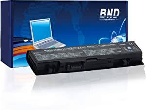 BND WU946 Laptop Battery Replacement for Dell Studio 1558 1555 1537 1535 PP39L PP33L 1536, fits P/N WU960 MT264 - [6-Cell 4400mAh/49Wh]