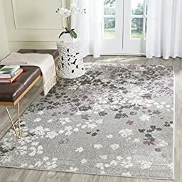 Safavieh Adirondack Collection ADR115M Light Grey and Purple Modern Abstract Area Rug (5\'1\