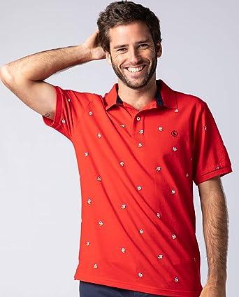 El Ganso 1100W190024_M Camiseta, Rojo, Adultos Unisex: Amazon.es ...
