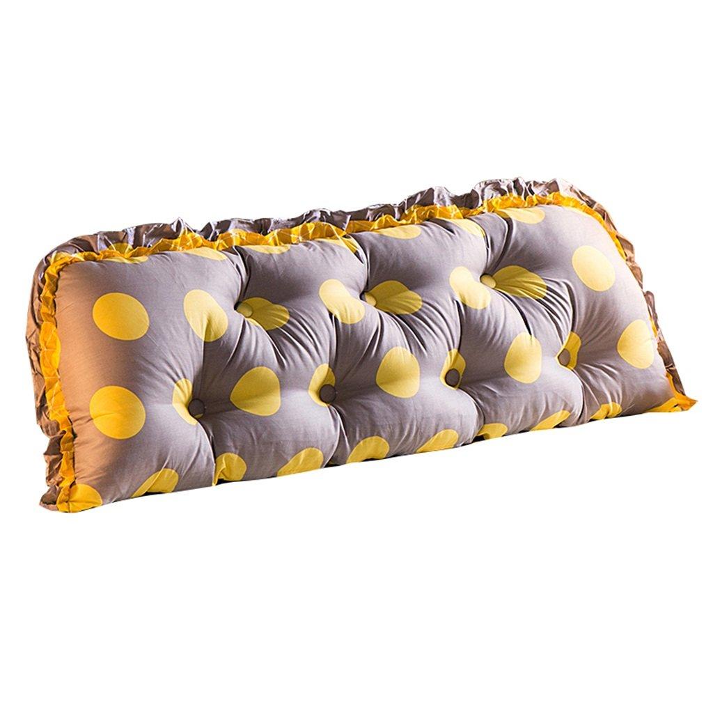 抱き枕 三角枕スタンダード詰め替えサポートクッションヘッドボードを読書用枕として寝かせベッドのベッドサイド用腰部クッションネックピローバックレスト (サイズ さいず : 190×53cm) 190×53cm  B07FMLTLVW