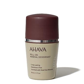 Best Natural Deodorant For Men 50 Ml Ahava Men S Mineral Deodorant
