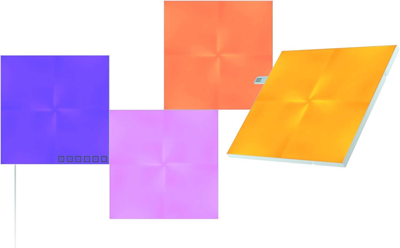 Nanoleaf Canvas Kit de Démarrage - 4 Carrés Lumineux