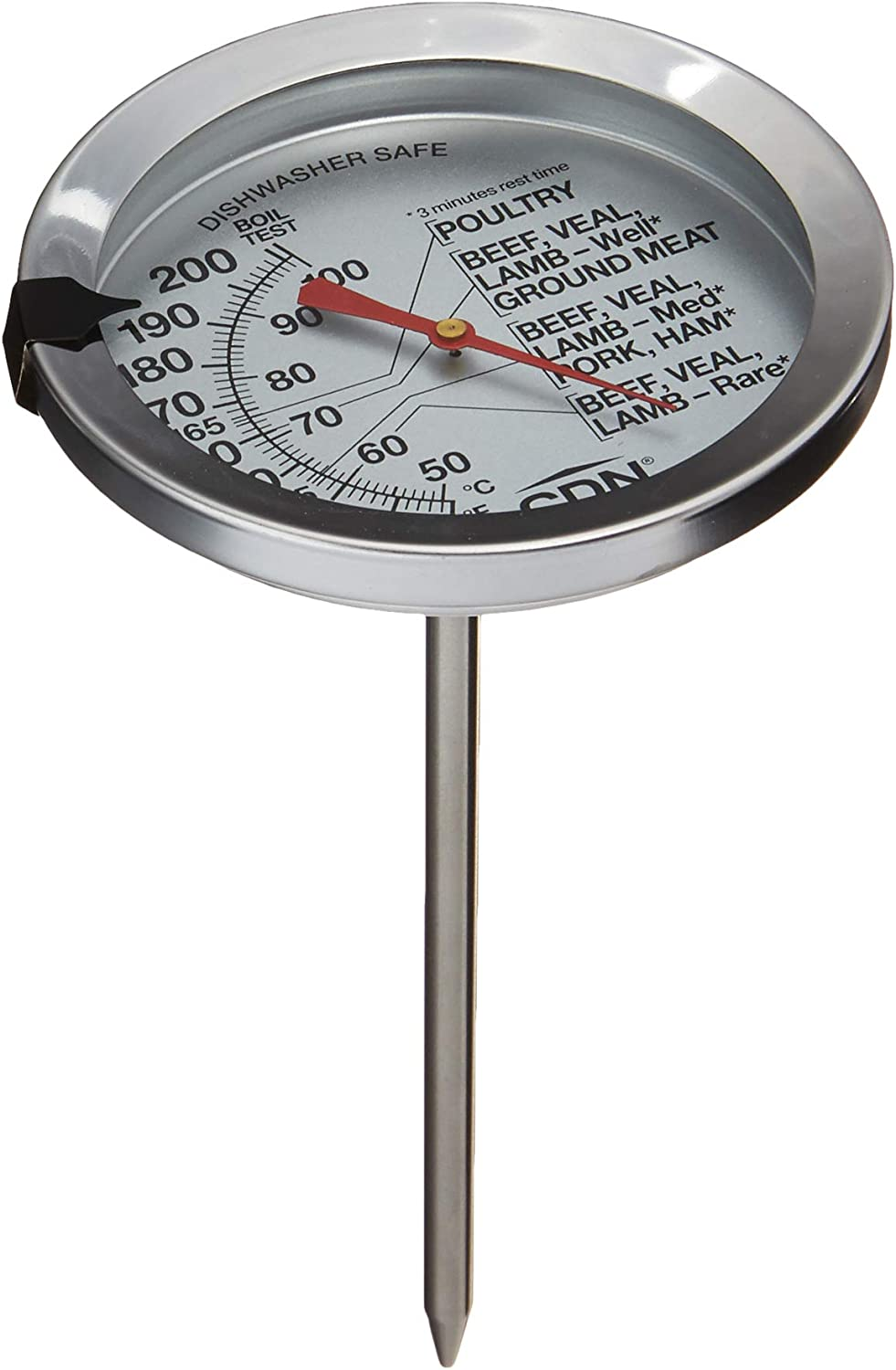 CDN IRM200 ProAccurate Extra Large Dial Meat & Poultry Thermometer