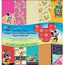 EK Success Brands Disney Specialty Paper Pad, Mickey Family