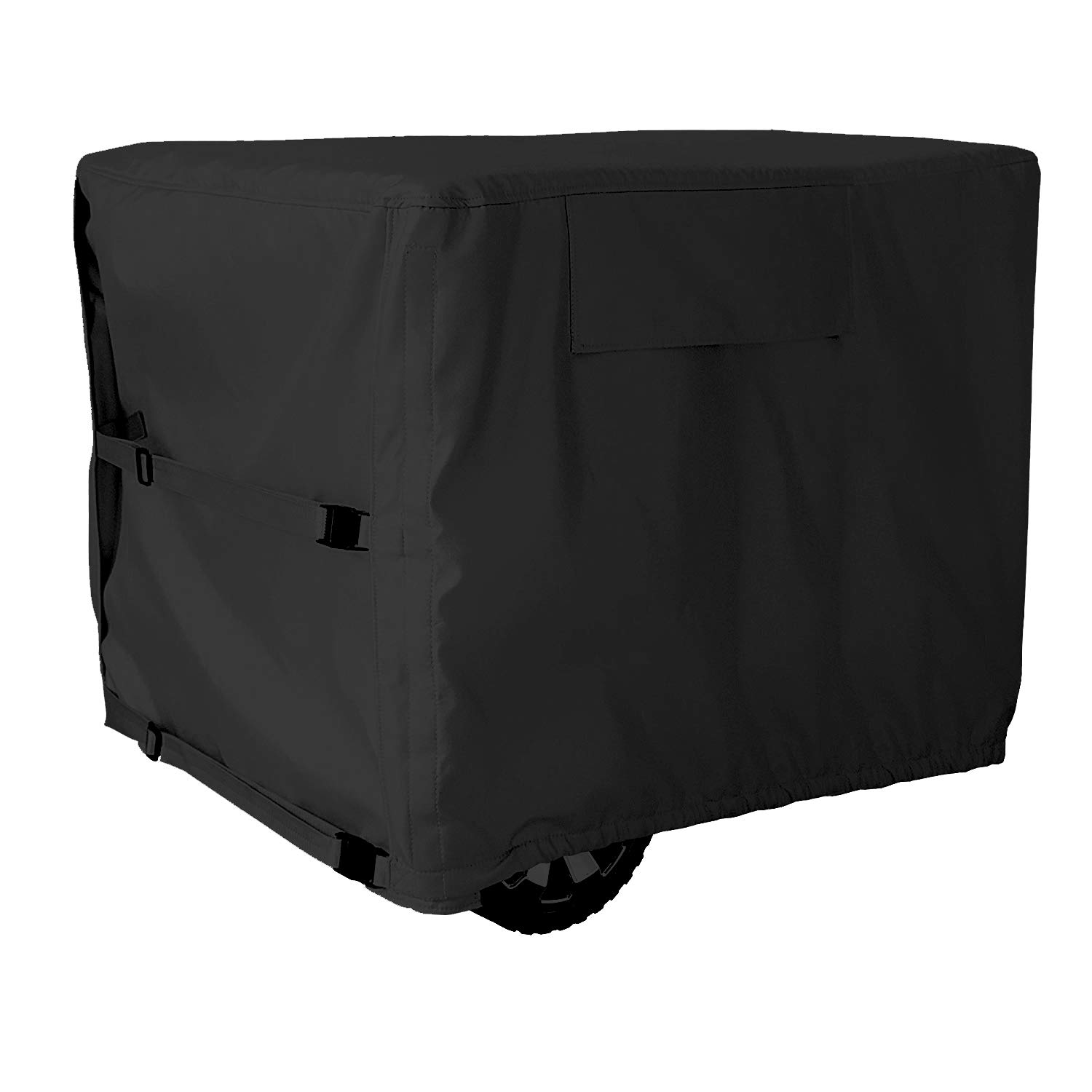 Mr.You Universal Generator Cover fit for Most Generators 5500-15000 Watt - 28x38x30 inch(Black) by Mr.You