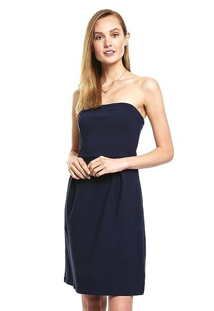 Accesorios para vestido azul strapless