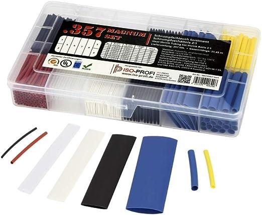 transparent diff/érentes couleurs et tailles ratio de r/étr/écissement 2:1 1,2 m de longueur Gaine thermor/étractable