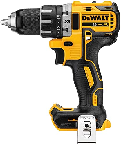 Dewalt DCD791BR 20V MAX XR Lithium-Ion Compact Brushless 1 2 in. 2-Speed Drill Driver Bare Tool Renewed