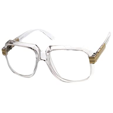 Kiss® lunettes de soleil - inspirés par le mod de style CAZAL SPÉCIAL - Old School HIP-HOP homme femme VINTAGE - NOIR DSuZSAKw