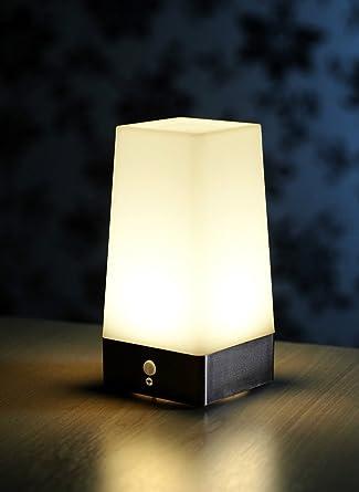 Led Détecteur Mouvement Intérieur Fil Lampe Sans Table Pir À De E2W9HDI