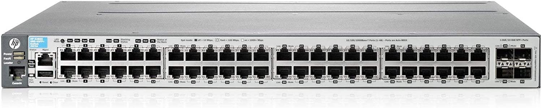 HP J9576A 3800 48G-4SFP+ Switch - J9576-61001, J9576-61101