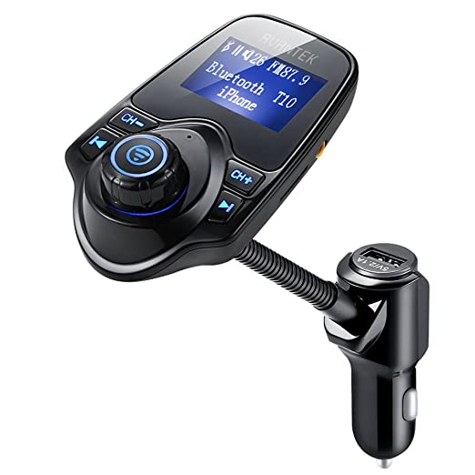 82 opinioni per [Versione Aggiornata] AVANTEK Trasmettitore FM Bluetooth, Chiamate Hands-free