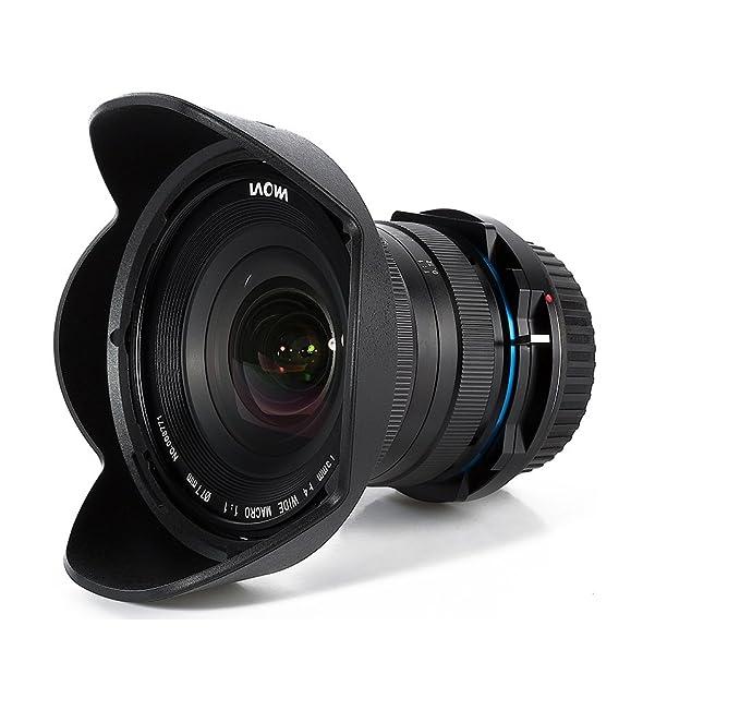 Laowa 15 mm f4.0 Macro Gran Angular 1: 1 con Cambio Eje para Canon ...