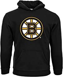 NHL Boston Bruins Suede Crest Eli Youth Pullover Hoodie 723d25cc0
