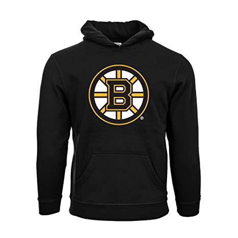 Image Unavailable. Image not available for. Color  NHL Boston Bruins Suede  Crest Eli Youth Pullover Hoodie ... 891254129